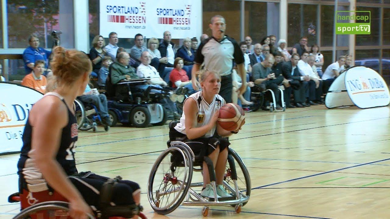 Rollstuhlbasketball Koordination in vollem Tempo